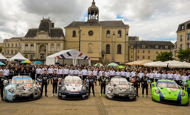 Wec 8 Lauf 24 H Le Mans Proton Competition